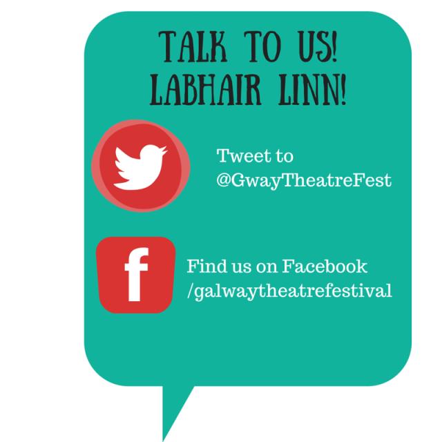 TALK TO US!LABHAIR LINN!
